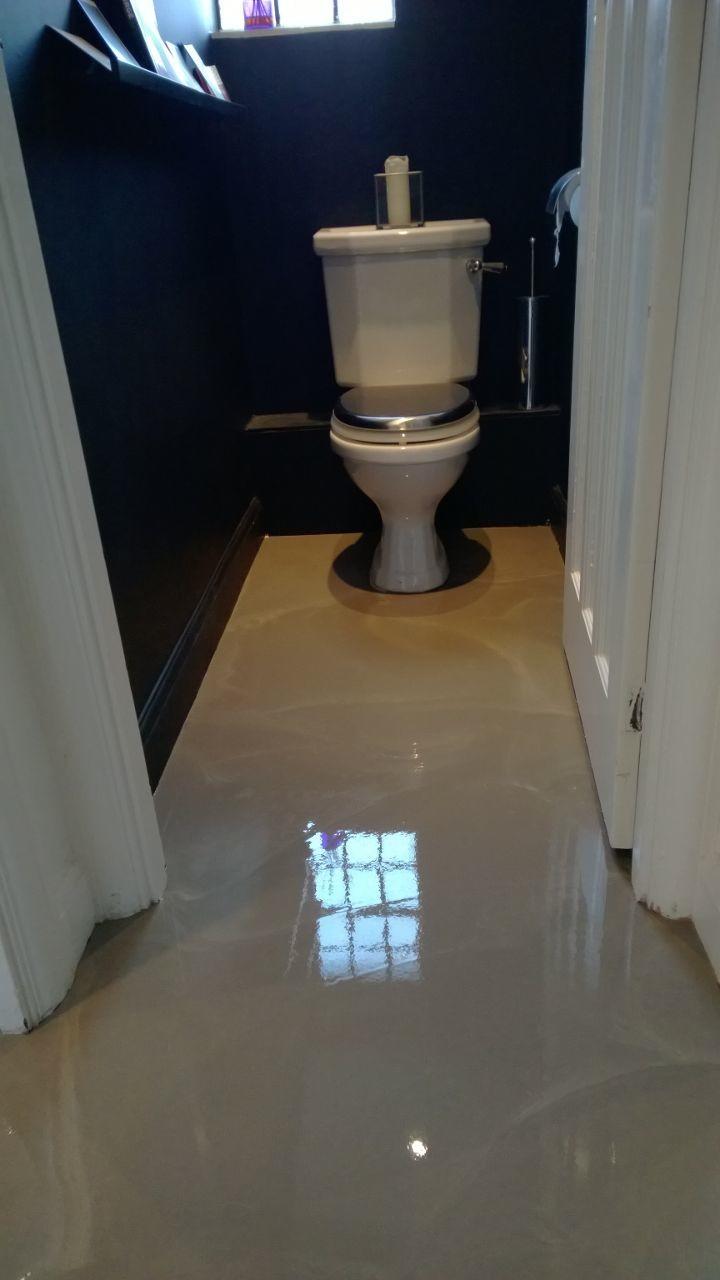 wet screed floor