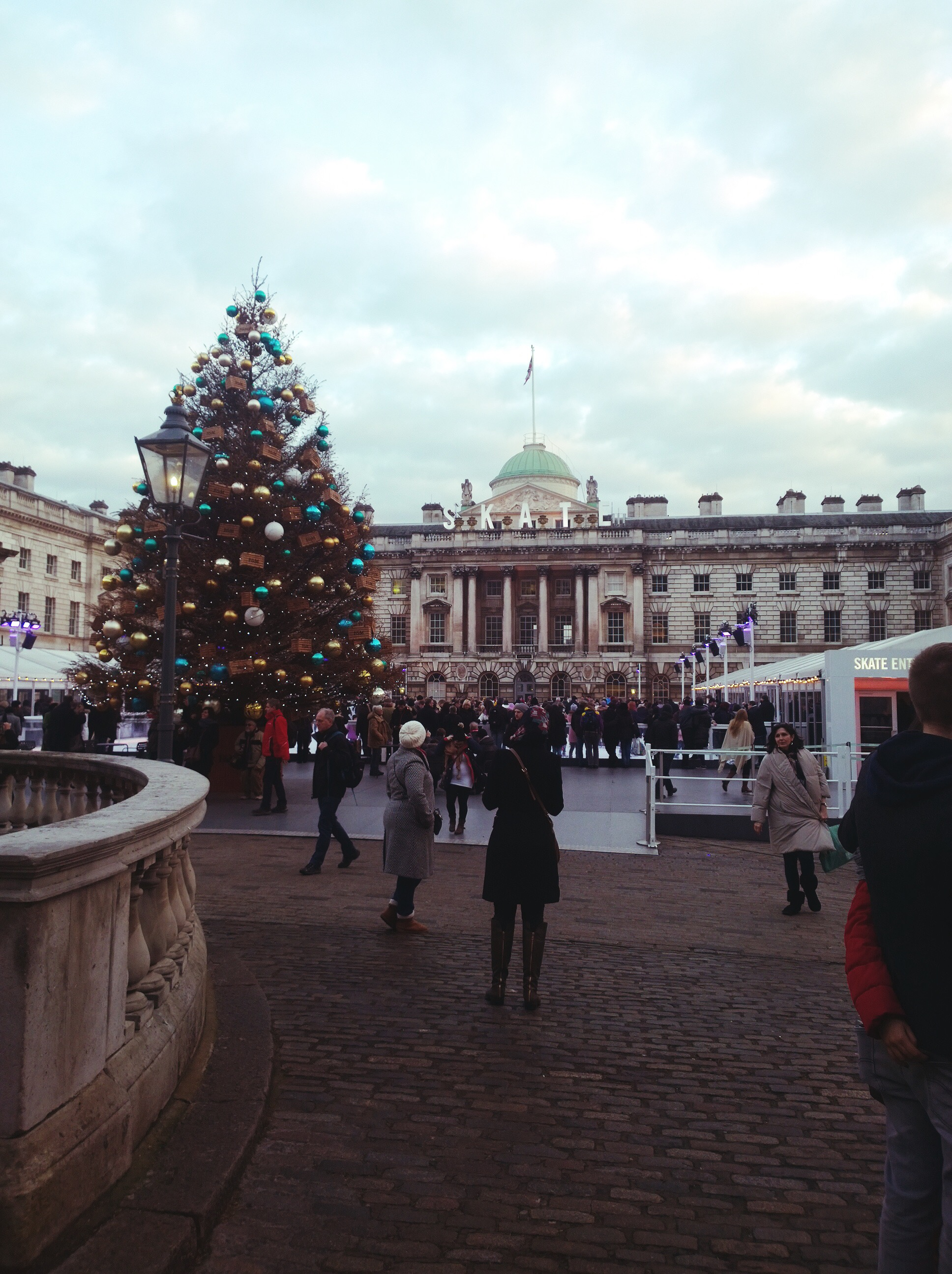 somerset house ice rink winter
