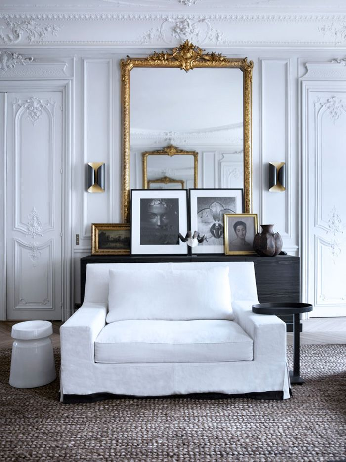 antique modern interiors