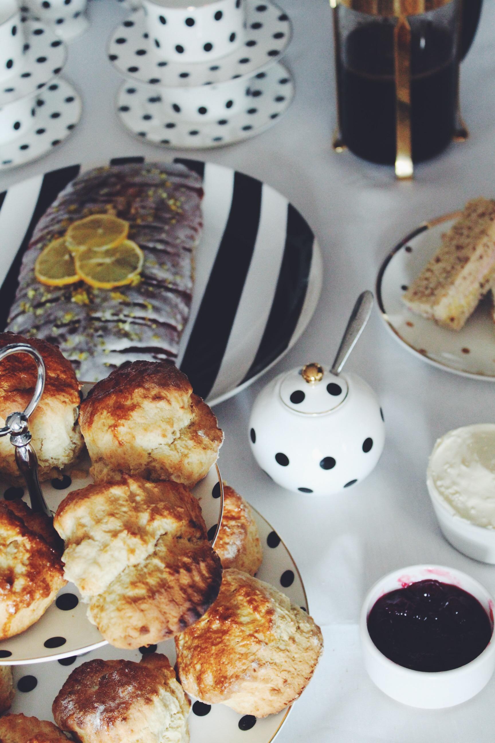 scones tea party