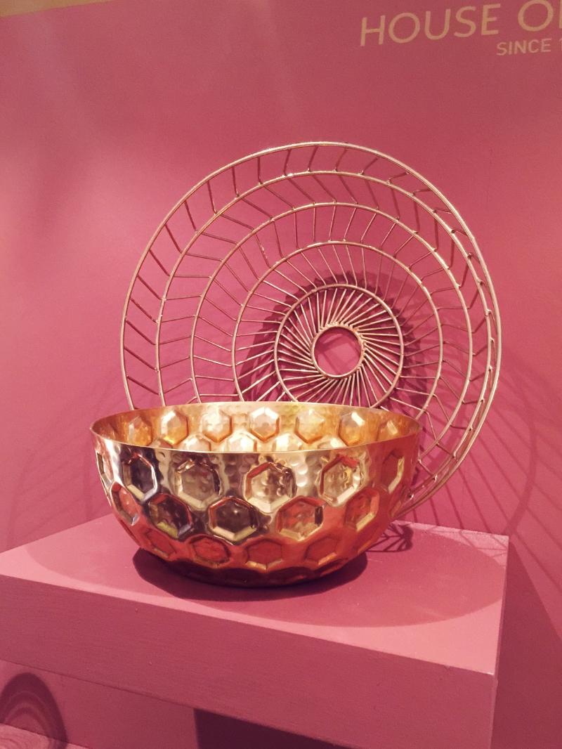 brass wire bowl