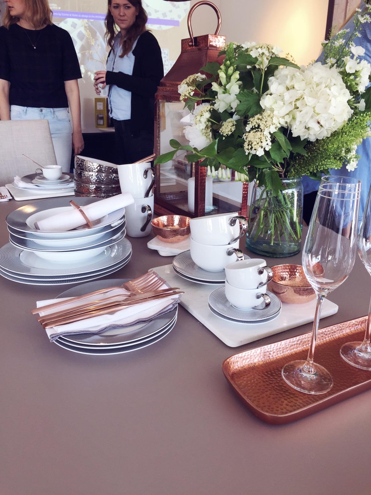 copper dinnerware