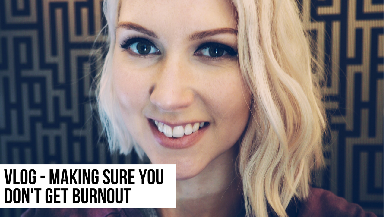 avoiding burnout