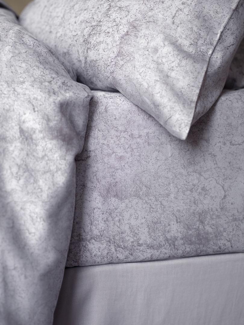 silver grey bedding