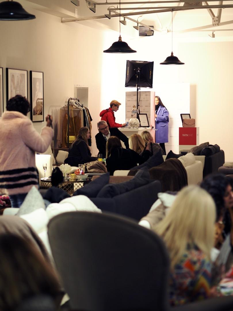 London fashion weekend luxe lounge