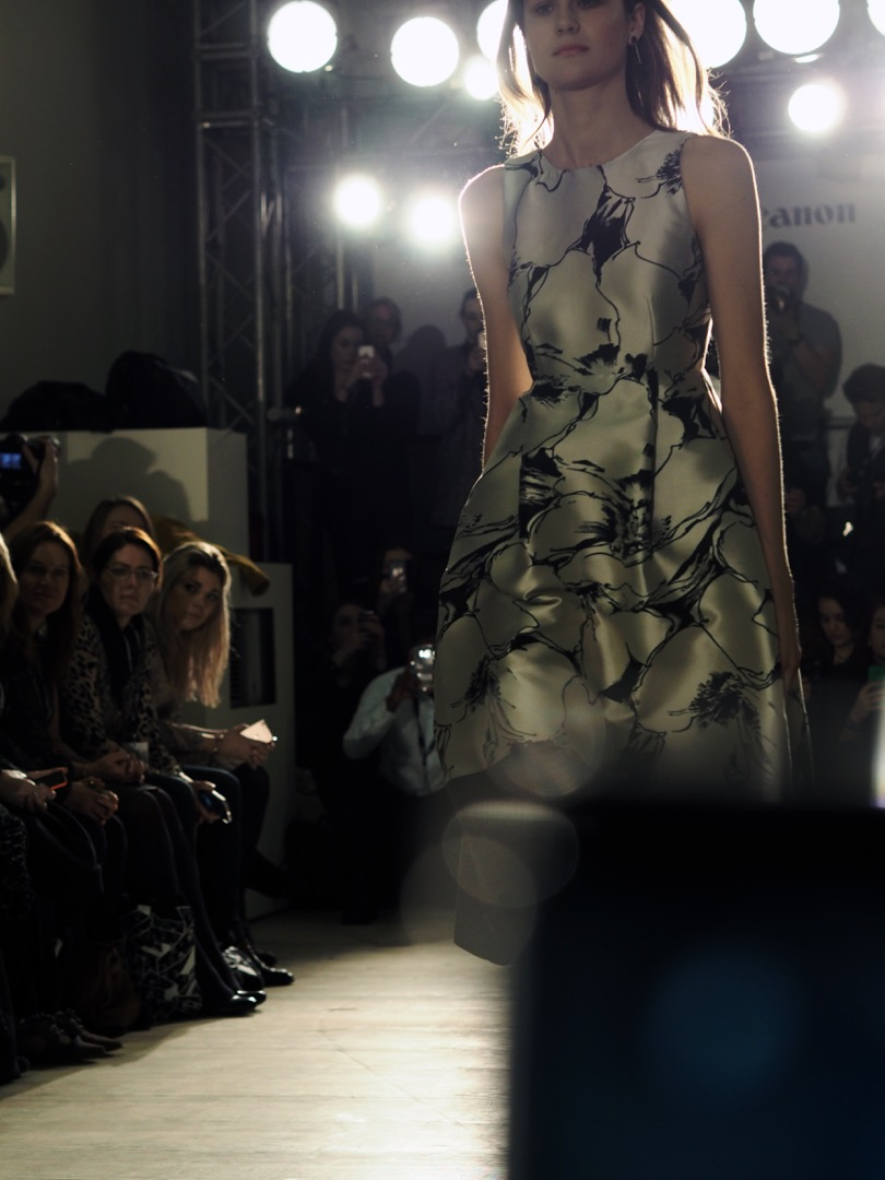 London fashion weekend front row