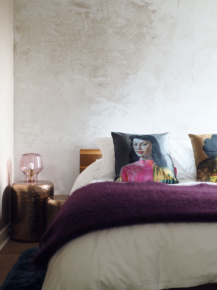 colourful bedroom makeover