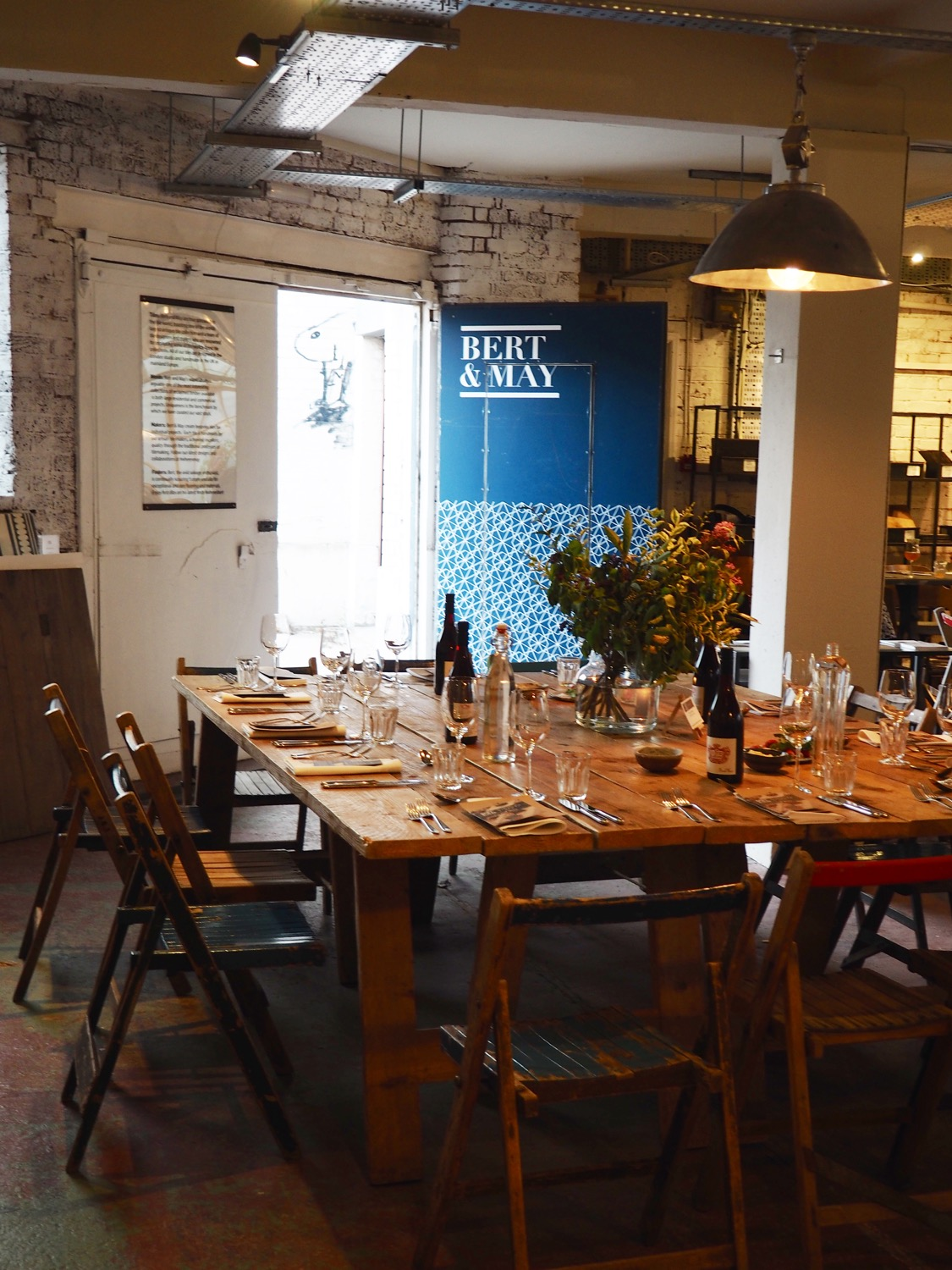 Bert & May supper club