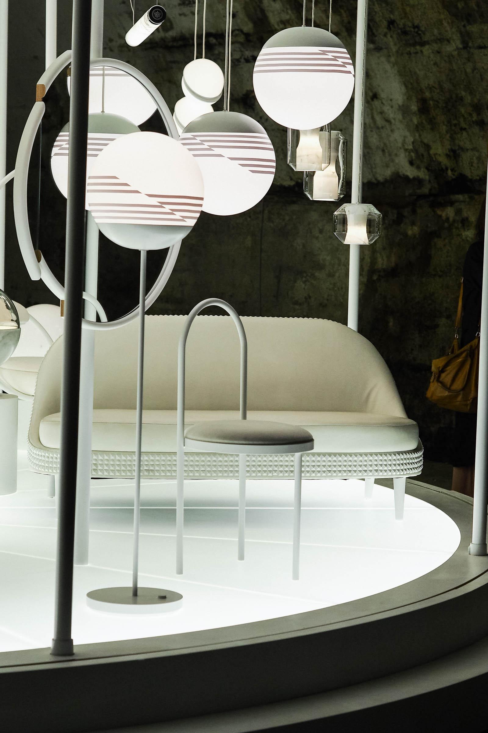 A look at Lee Broom's installation at Milan Design Week 2017.