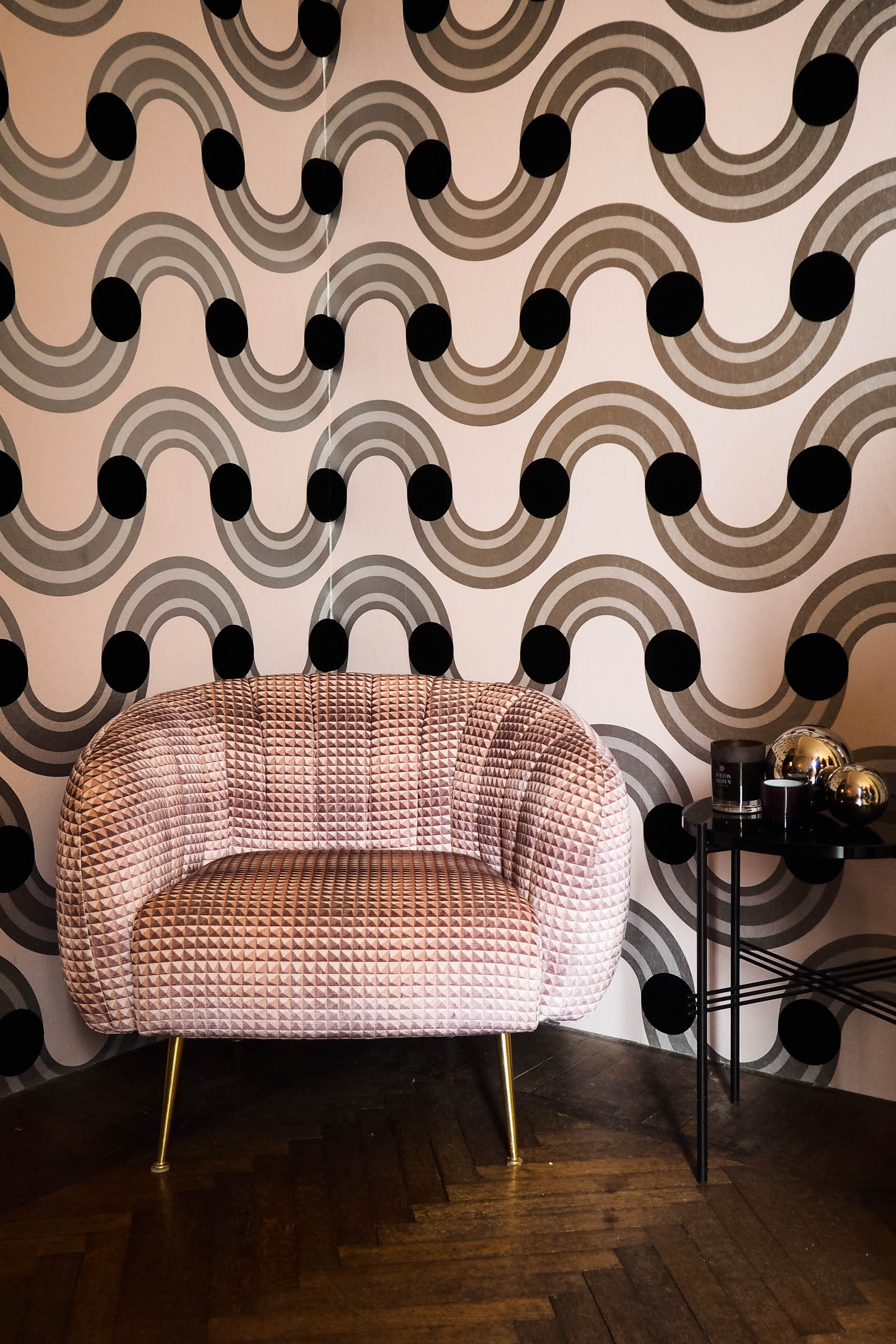Read all about my first experience of Milan design week - eley kishimoto for kirkby