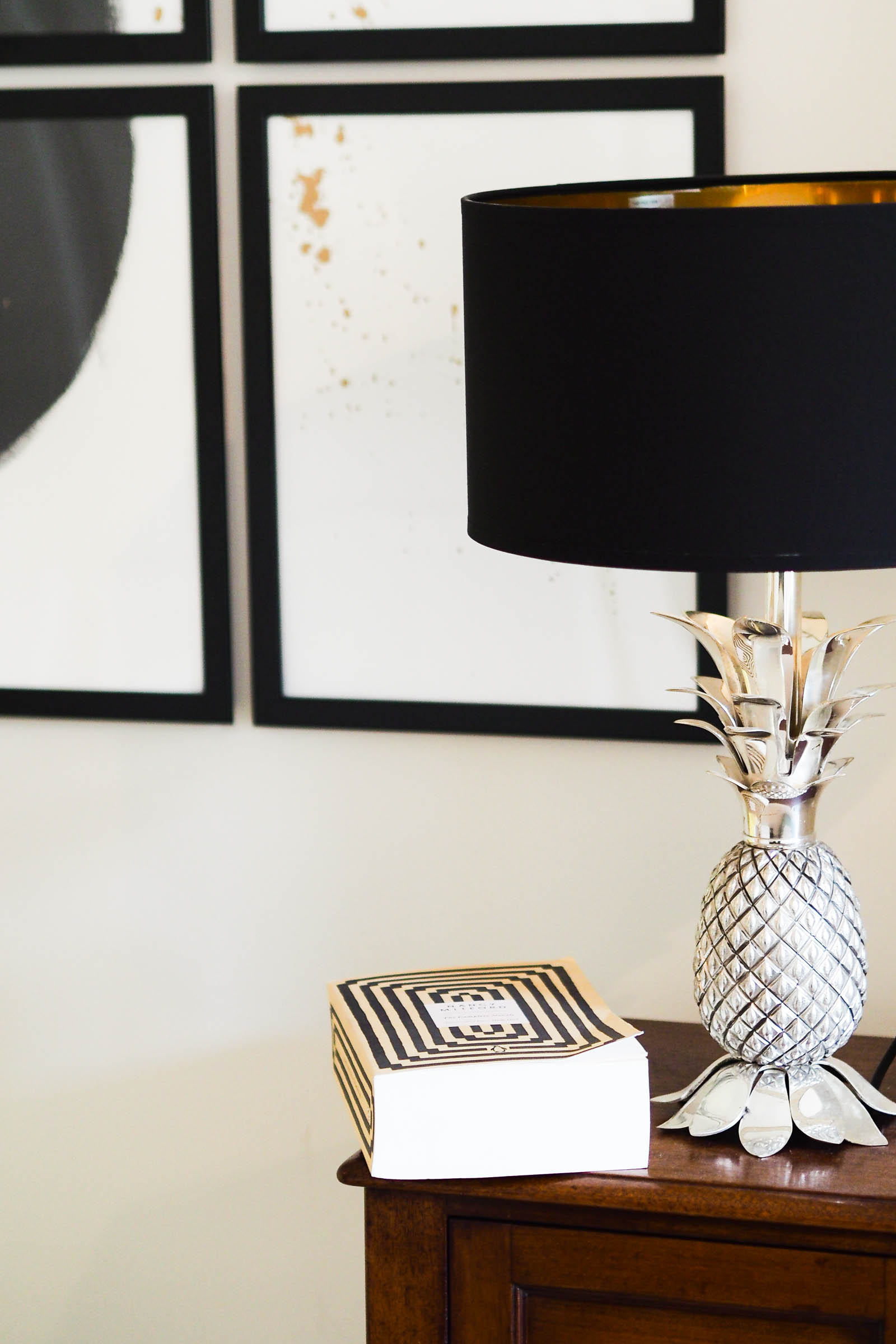 In this blog post I'm showing you exactly how to hang pictures without nails using this nifty little product.