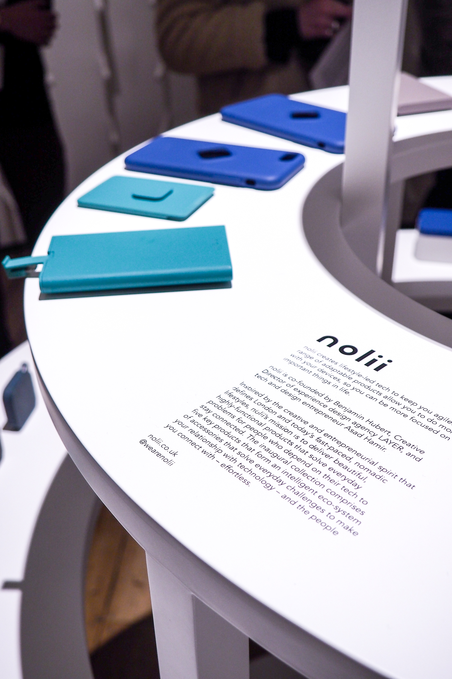 5. power gets sexy - new brand nolii introduced their range of design led powerbanks