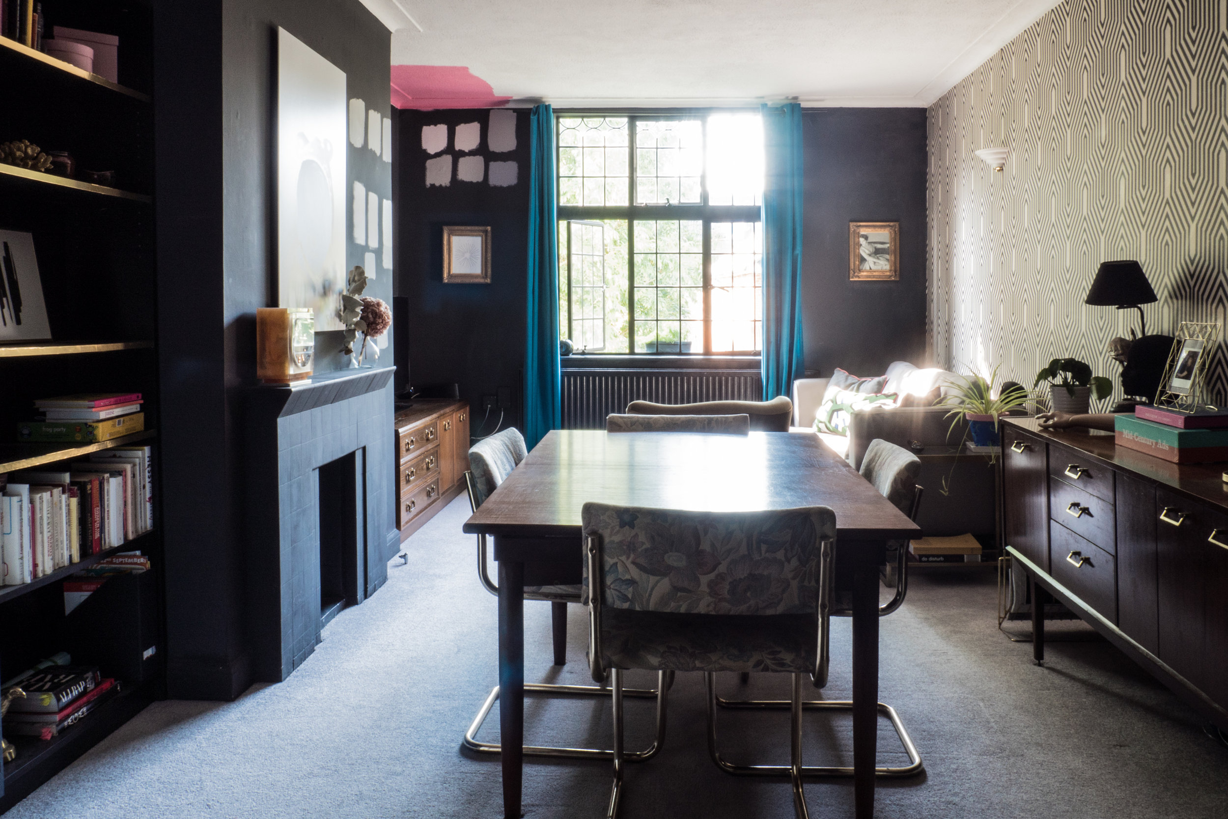 Our eclectic living room makeover