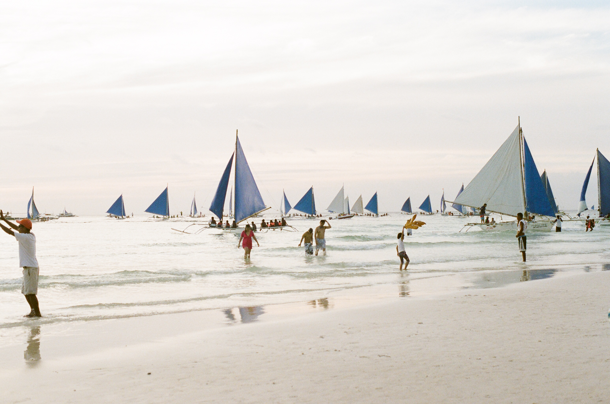 boracay philippines beach travel washington dc photographer film sailboats