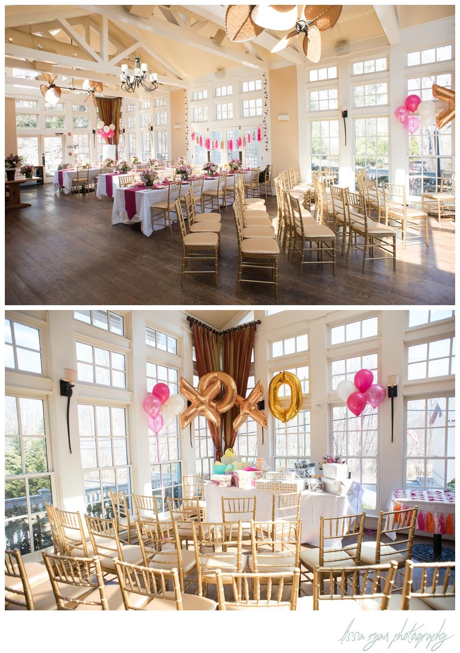 pink bridal shower trummers on main clifton va lissa ryan photography