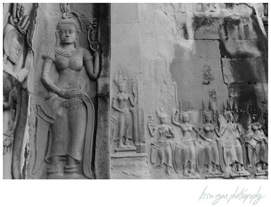 apsara angkor wat cambodia travel photography lissa ryan photography
