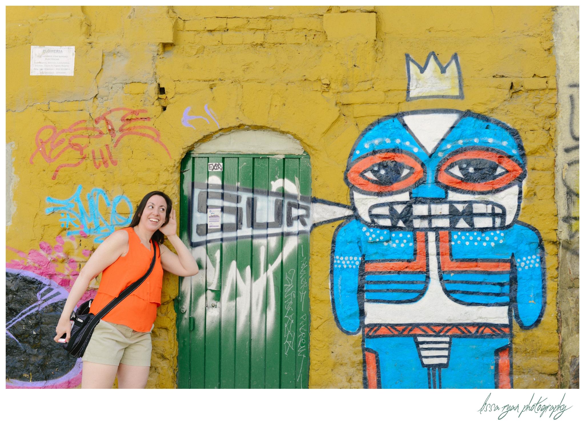 street art colombia bogota a-wandering wednesday travel photography lissa ryan photography