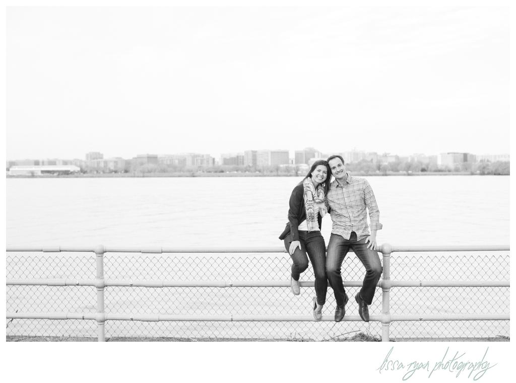 cherry blossom engagement session washington dc engagement wedding photographer lissa ryan photography