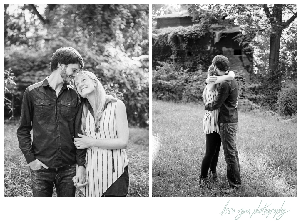 secret garden ruins silver spring engagement session washington dc wedding photographer lissa ryan photography film photography