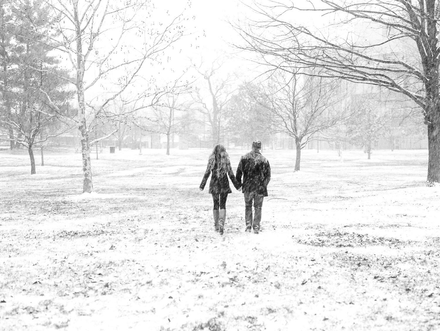 snow snowzilla washington dc anniversary session fine art film photographer lissa ryan photography