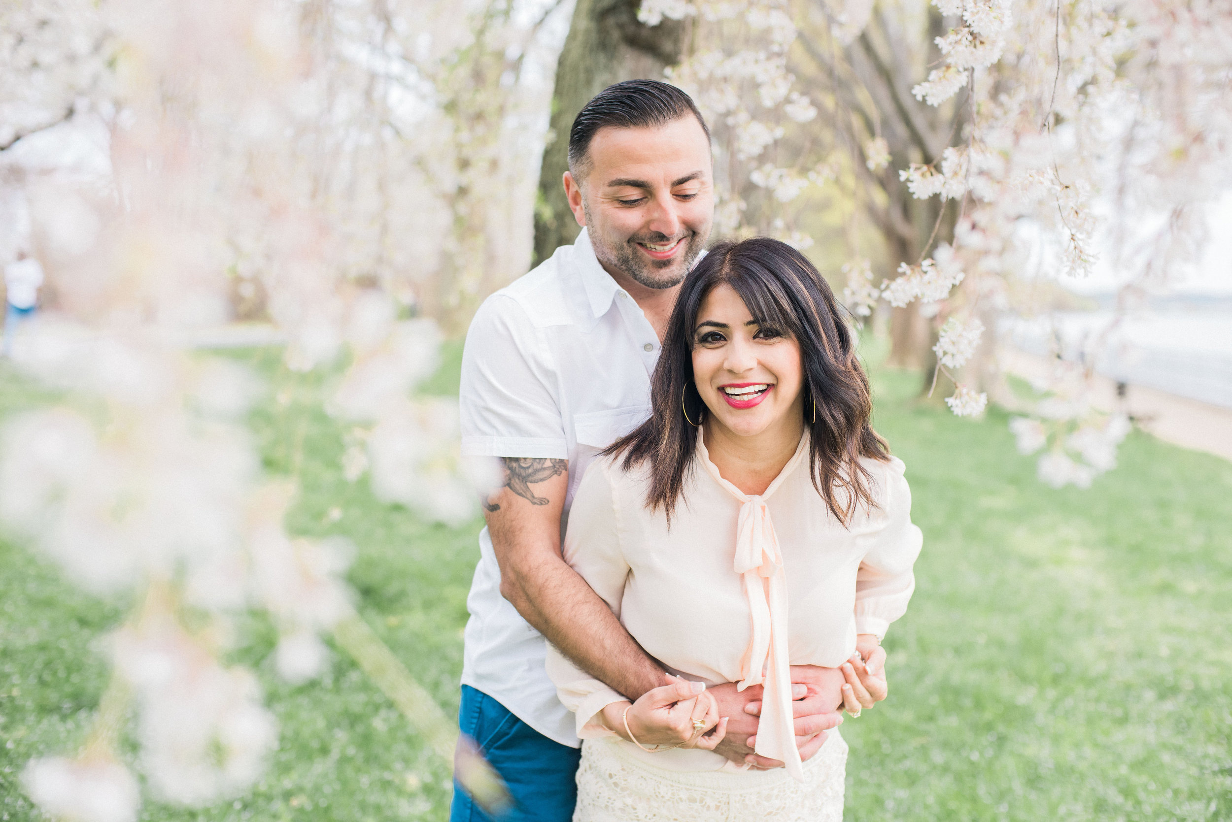 washington dc cherry blossom engagement session fine art wedding photographer lissa ryan photography