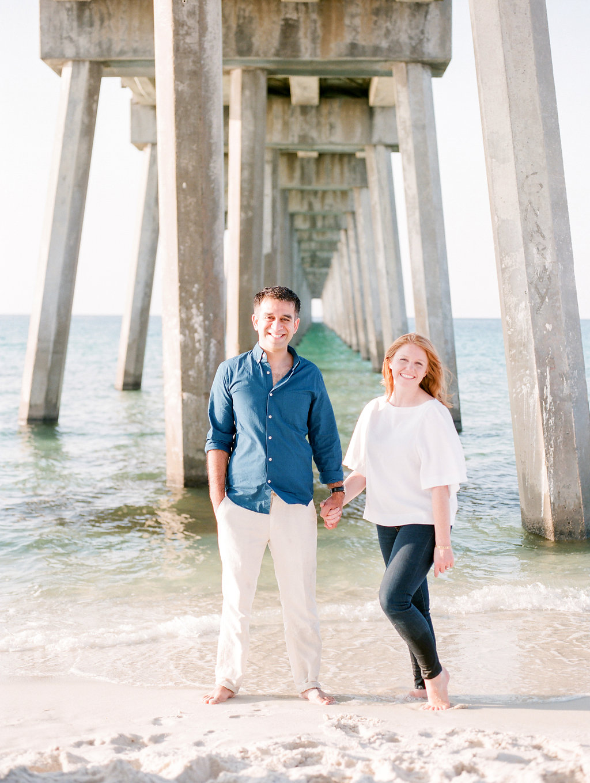 pensacola beach florida engagement photos destination wedding photographer lissa ryan photography