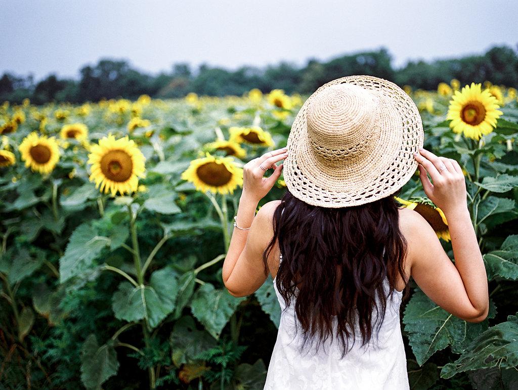 summer sunflower portrait beauty washington dc boudoir photographer lissa ryan photography