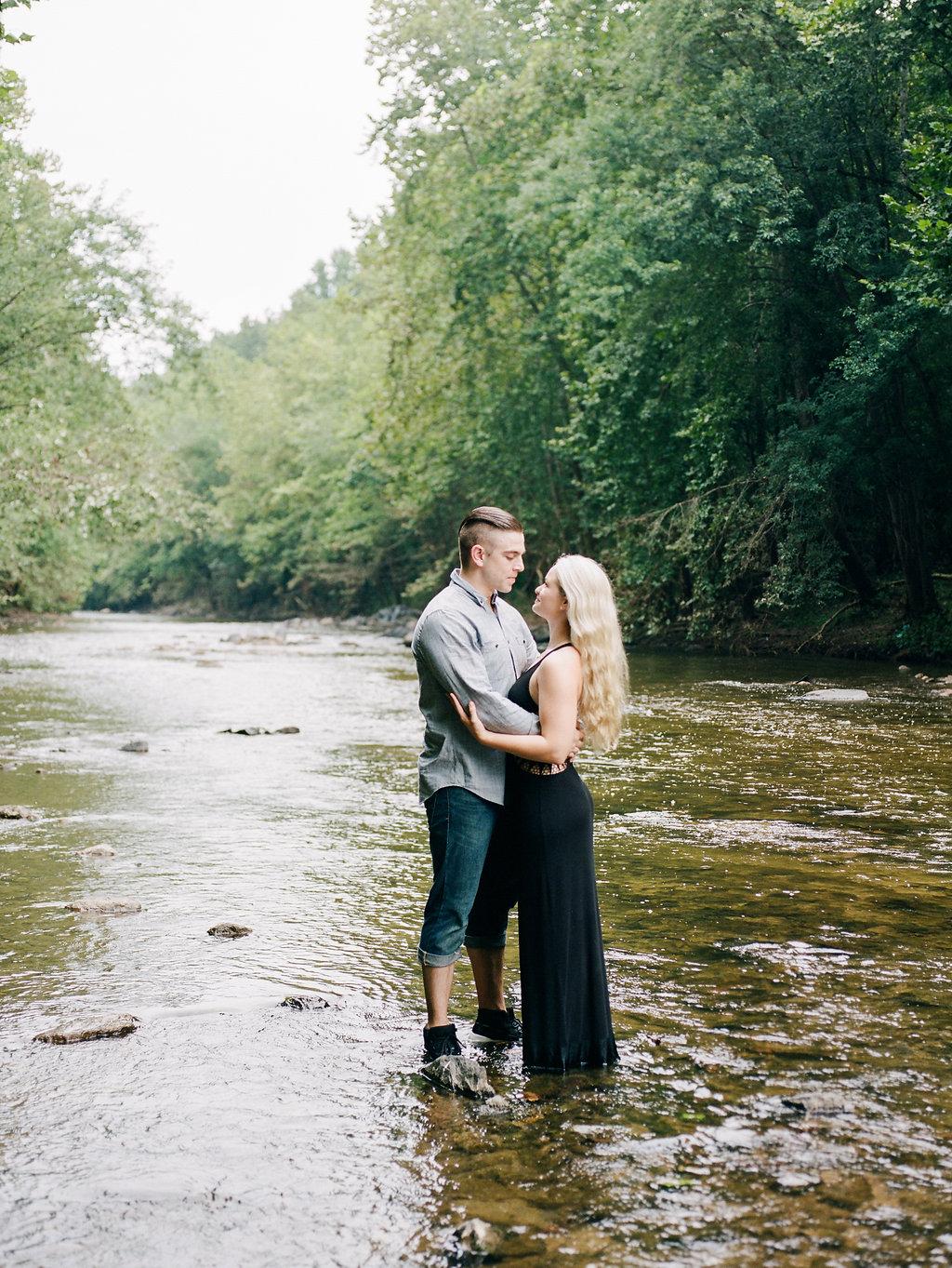 patapsco state park maryland engagement photos fine art wedding photographer lissa ryan photography