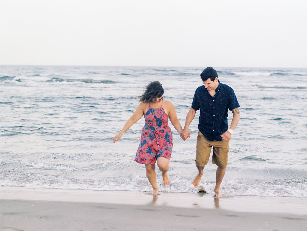ocean city new jersey beach anniversary session fine art film photographer lissa ryan photography