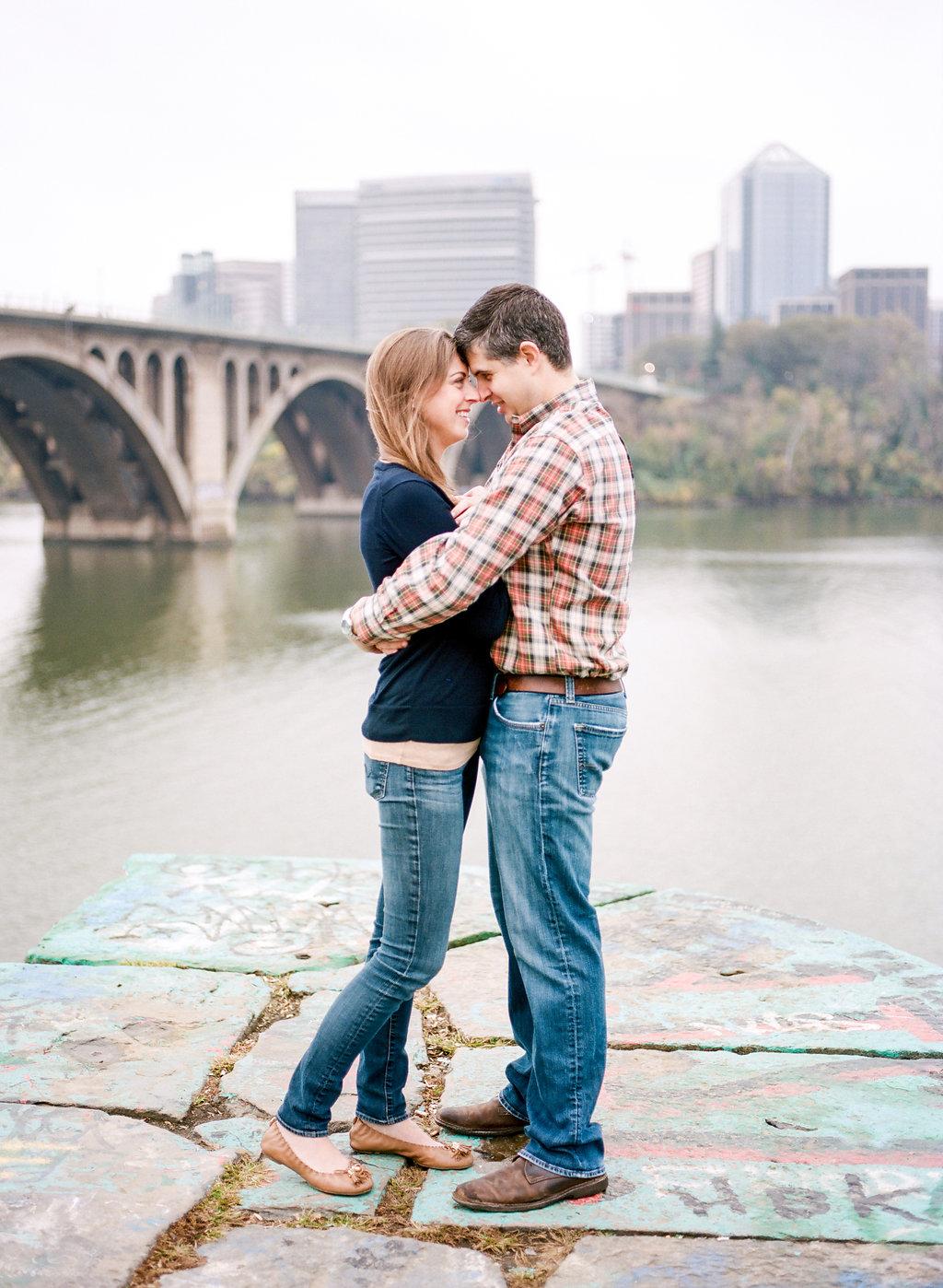 fall anniversary session in georgetown washington dc fine art photographer lissa ryan photography