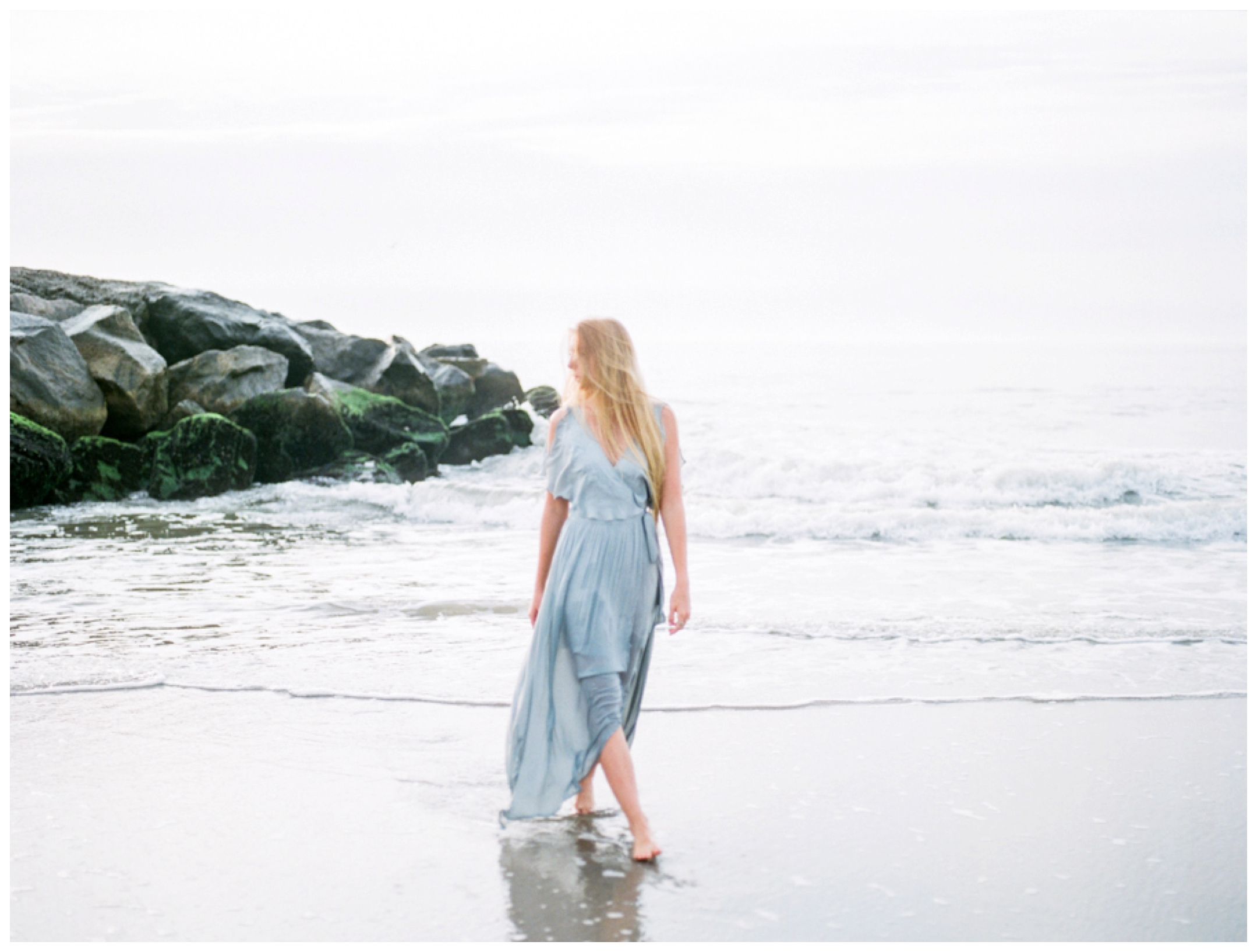 sunrise beach beauty session in avalon new jersey by fine art wedding photographer lissa ryan photography