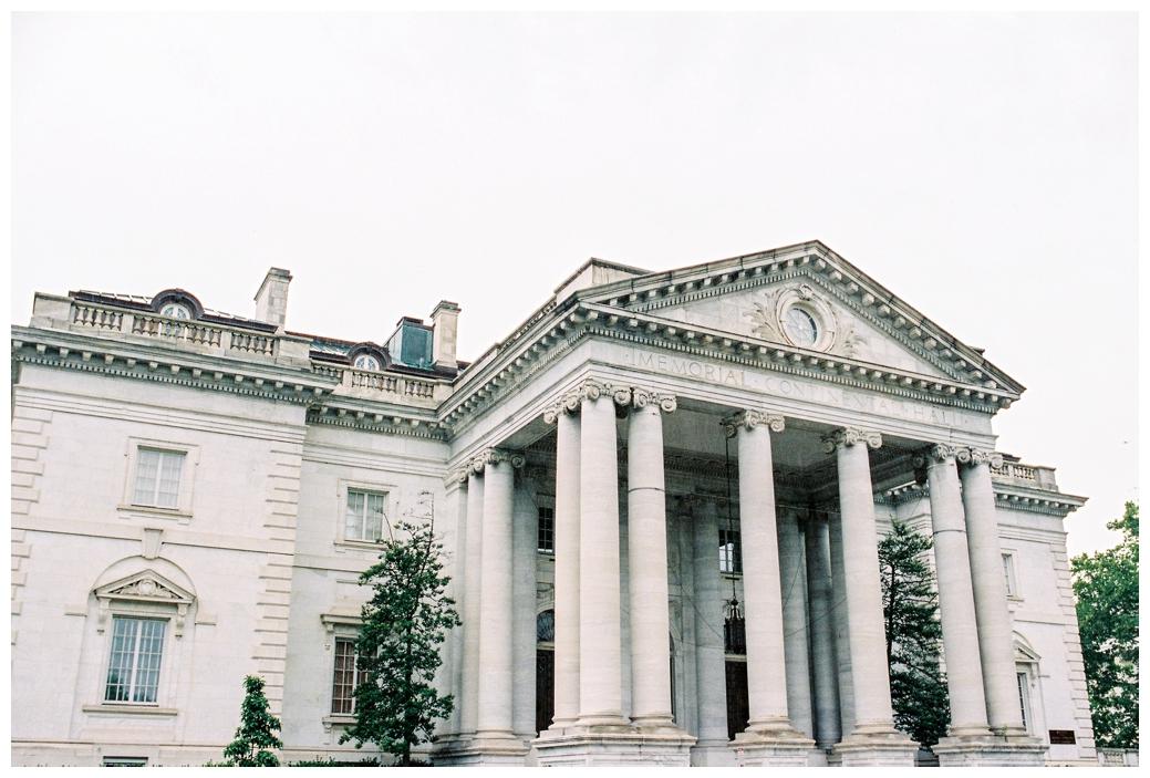 Daughters of the American Revolution DAR Wedding in Washington DC by fine art photographer Lissa Ryan Photography