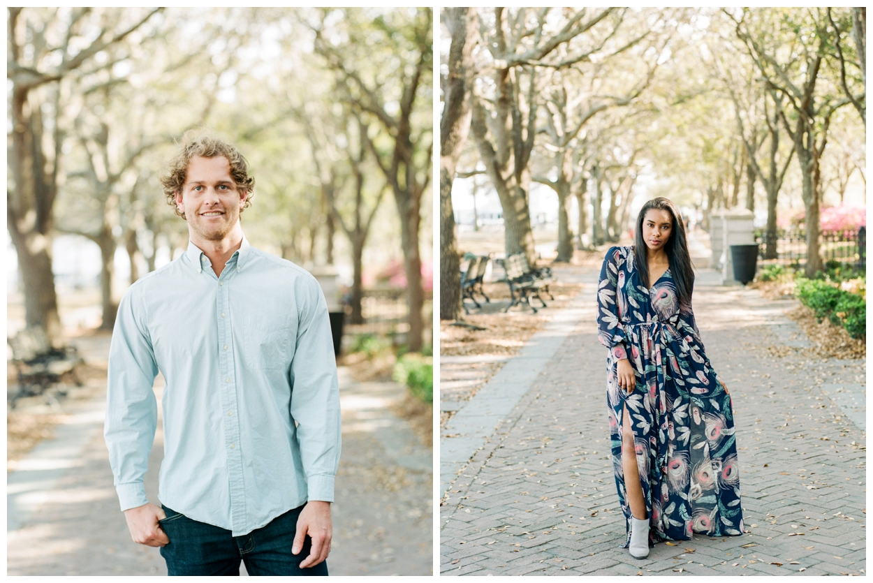 Charleston South Carolina destination anniversary engagement session by fine art wedding photographer Lissa Ryan Photography