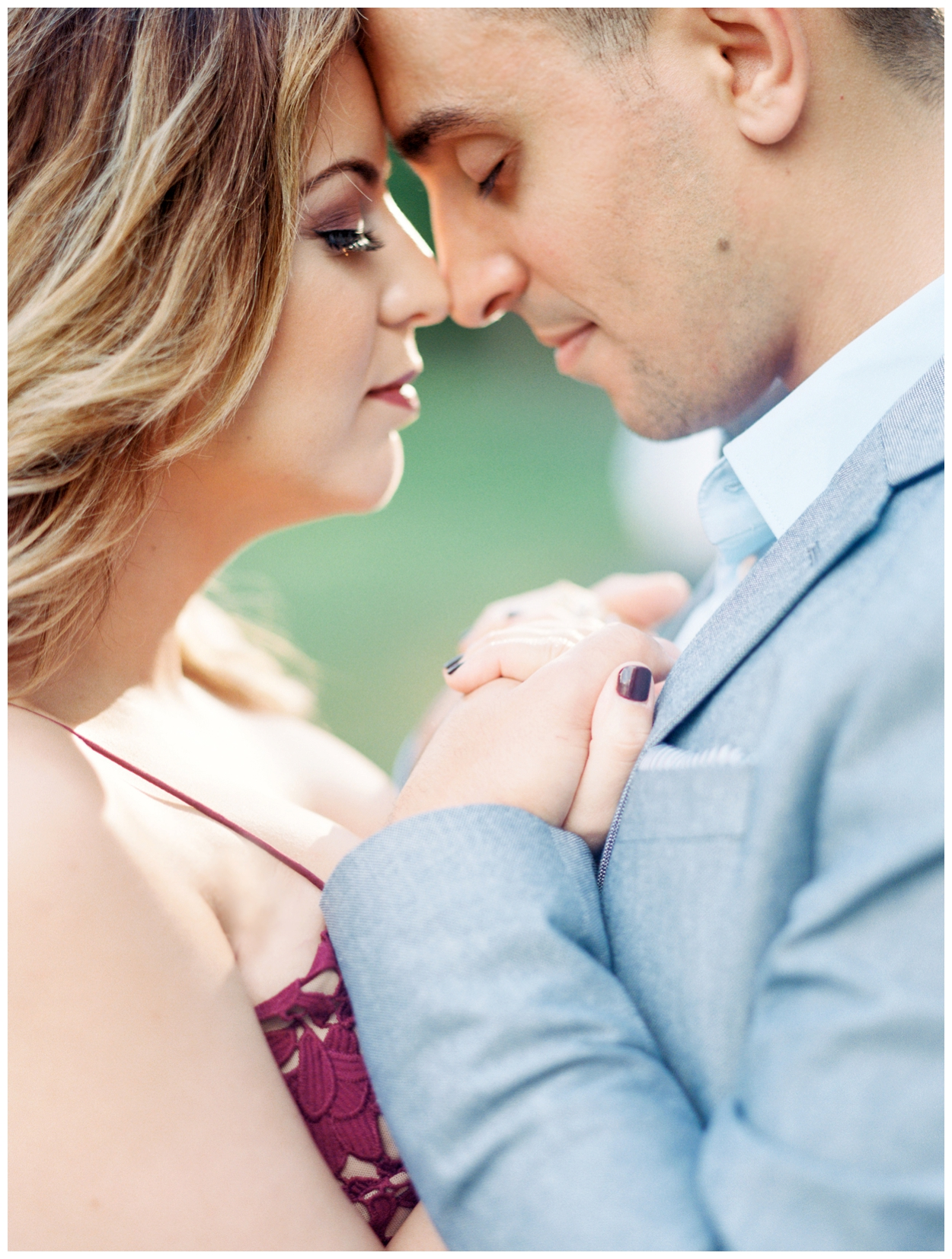summery maryland engagement session at Brookside Gardens by fine art photographer Lissa Ryan Photography