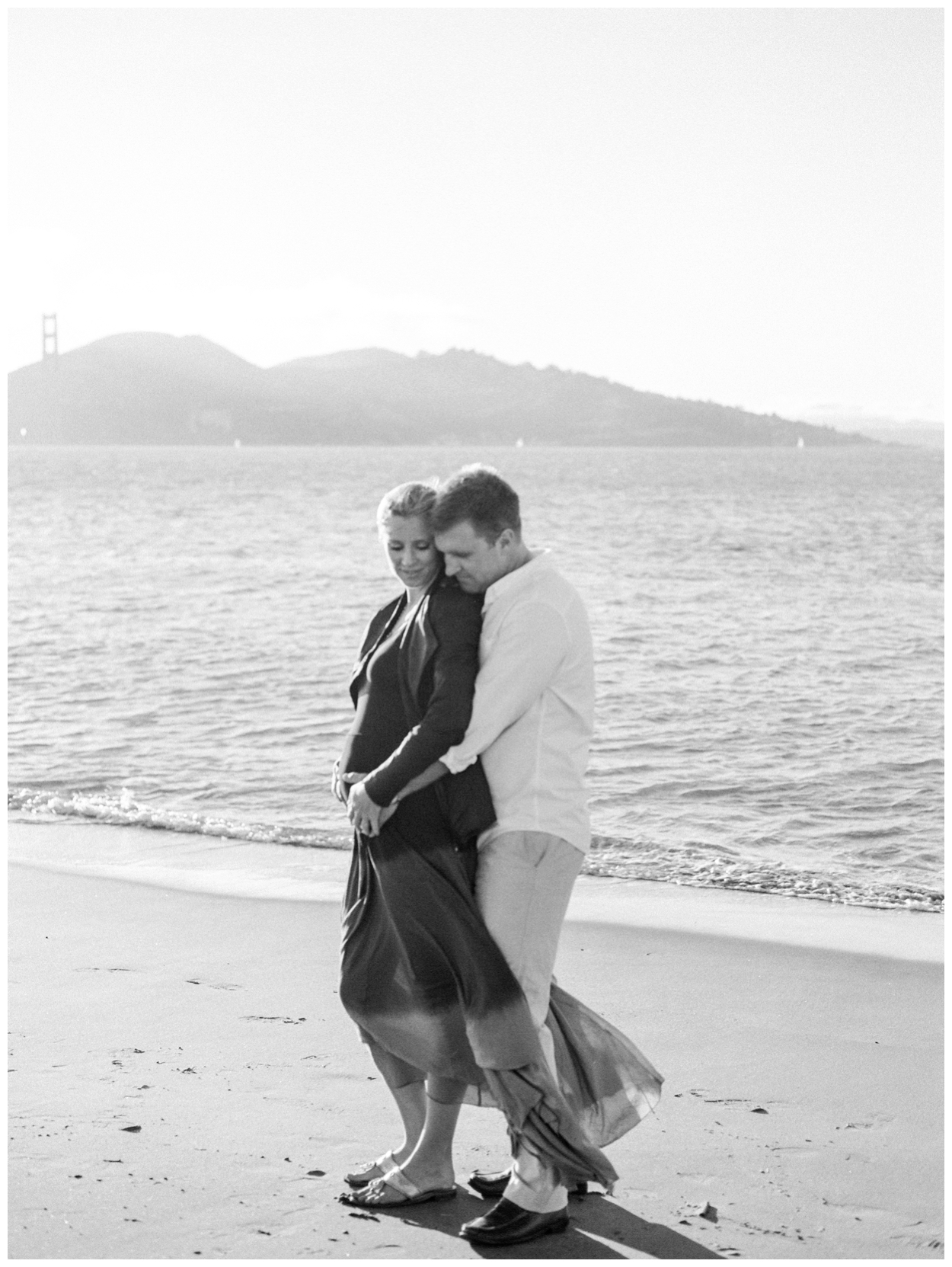 San Francisco California maternity session at Crissy Fields by fine art destination photographer Lissa Ryan Photography