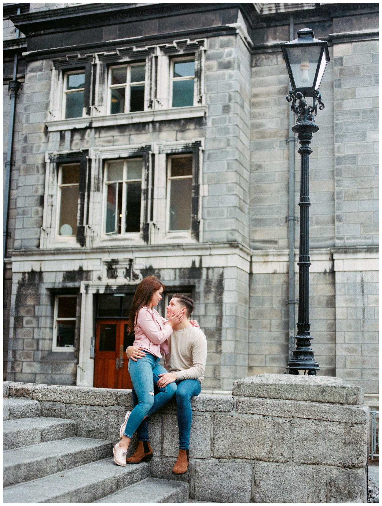 couple's anniversary photo session in Dublin Ireland on film by fine art photographer Lissa Ryan Photography
