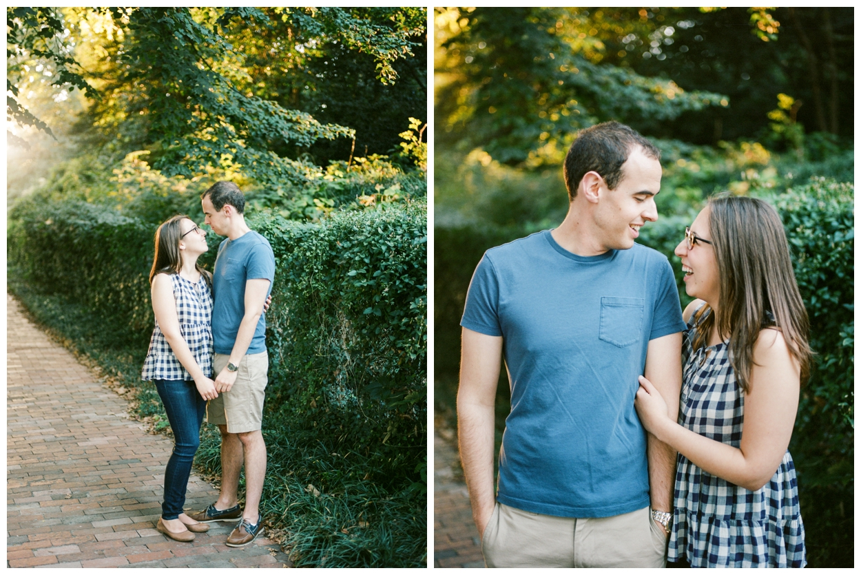 fall engagement session in Georgetown, Washington, DC by fine art wedding photographer Lissa Ryan Photography