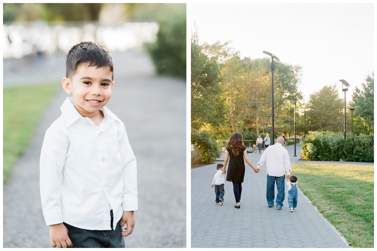 Fall family photography session on film in Washington DC by fine art photographer Lissa Ryan Photography