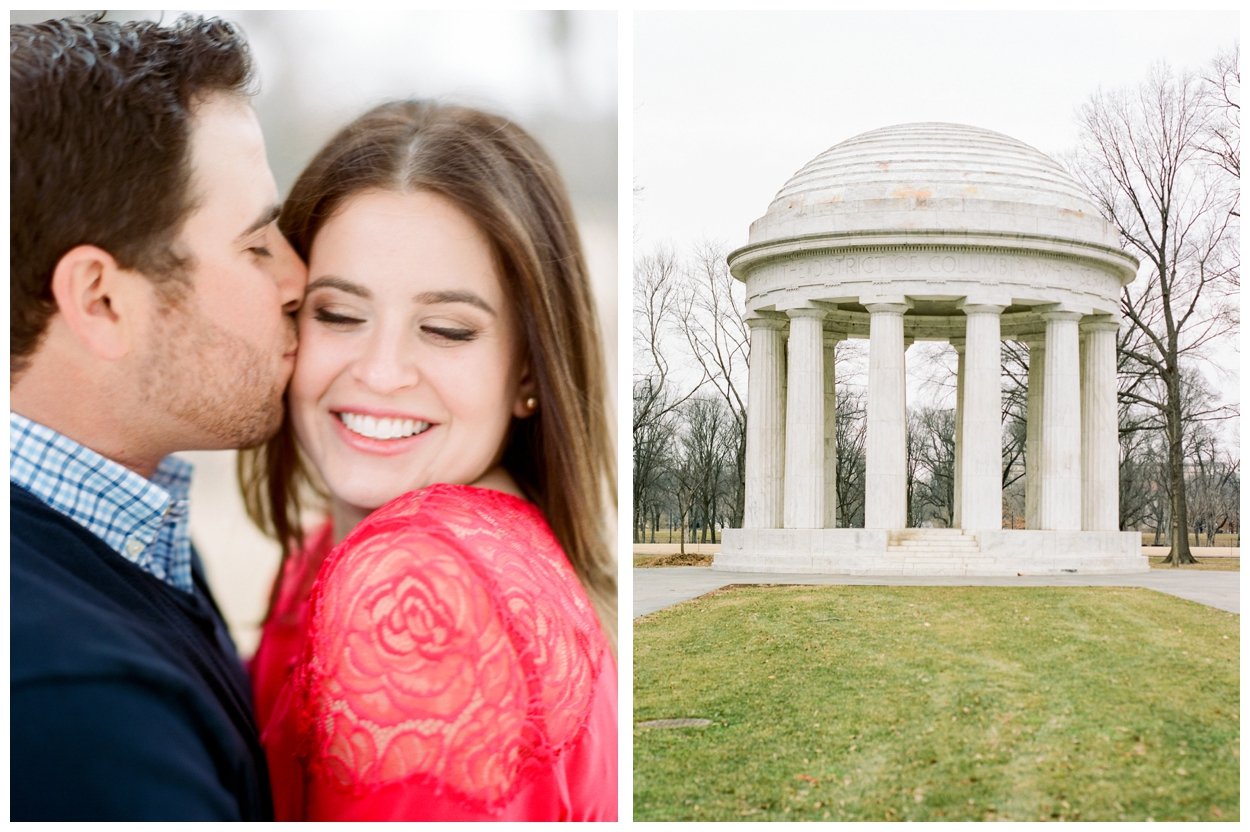 Winter Engagement Session on the National Mall Washington DC by fine art wedding photographer Lissa Ryan Photography