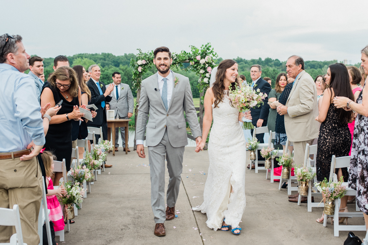 Spring Riverside on the Potomac Wedding in Virginia by fine art wedding photographer Lissa Ryan Photography