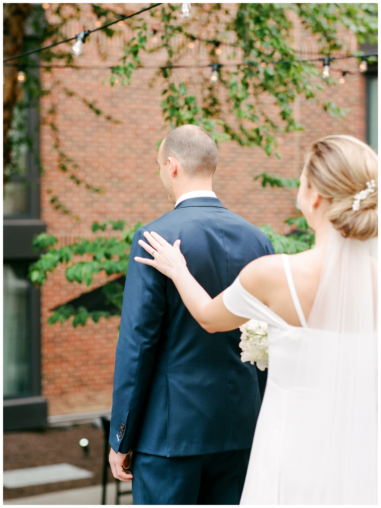 spring blush and white wedding at the Ritz Carlton Georgetown in Washington DC by fine art wedding photographer Lissa Ryan Photography