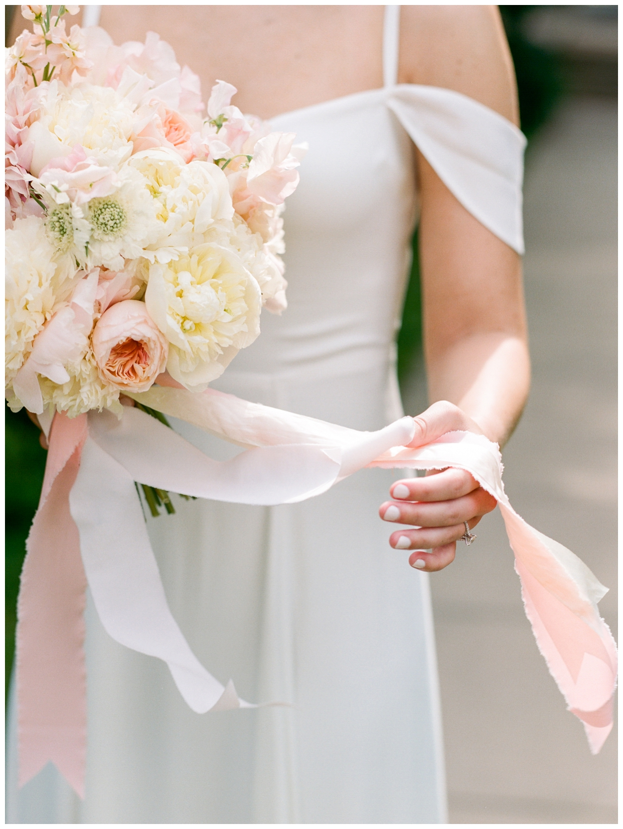 spring blush and white brunch wedding at the Ritz Carlton Georgetown in Washington DC by fine art wedding photographer Lissa Ryan Photography