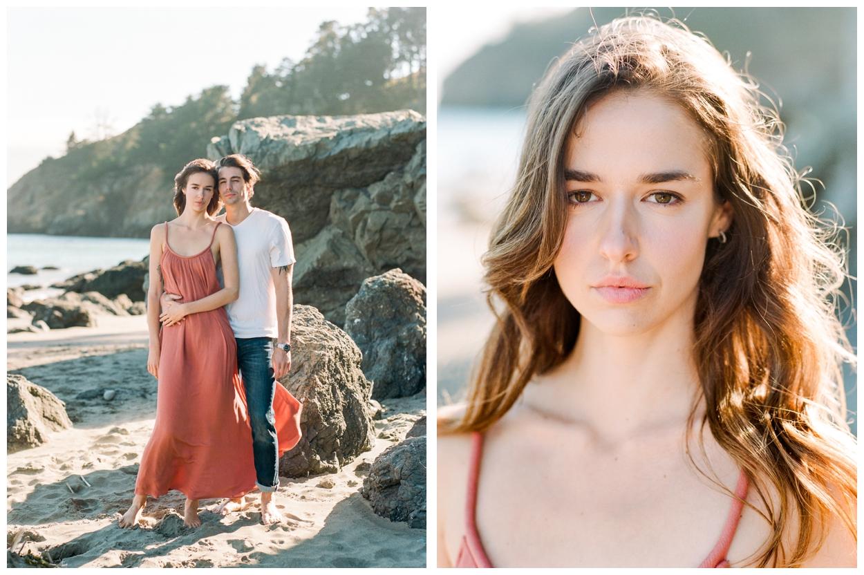 Muir Beach Engagement Session in San Francisco California by fine art wedding photographer Lissa Ryan Photography