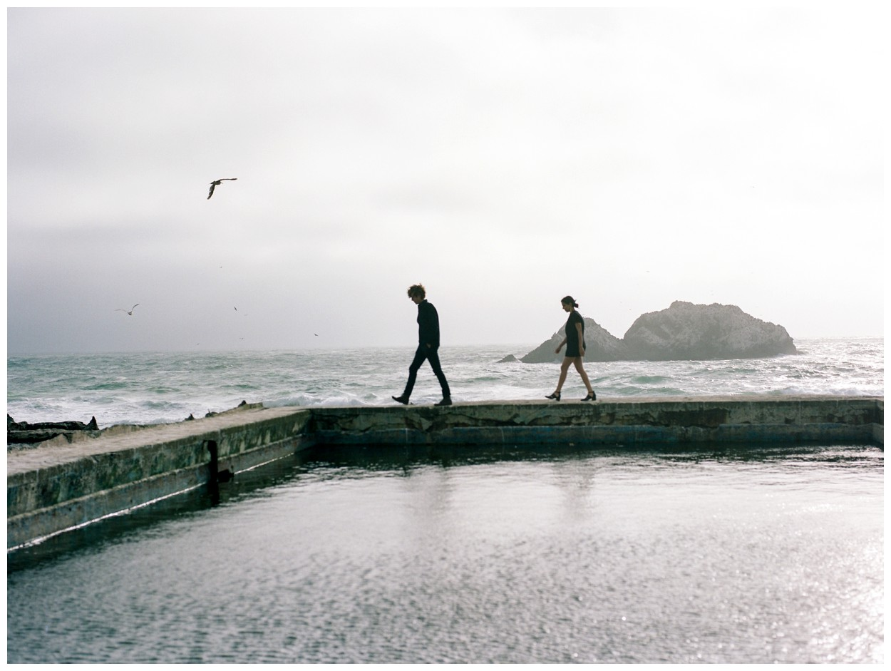 San Francisco Engagement Session at the Sutro Baths and Land's End by fine art destination photographer Lissa Ryan Photography