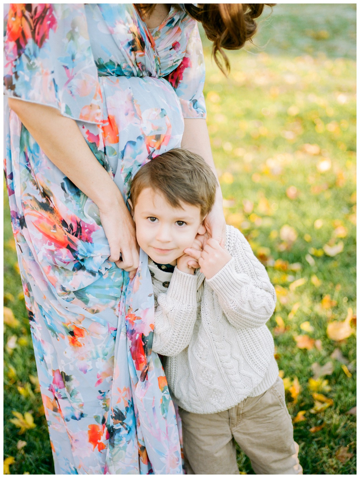 Family session on film at Glenview Mansion by fine art photographer Lissa Ryan Photography