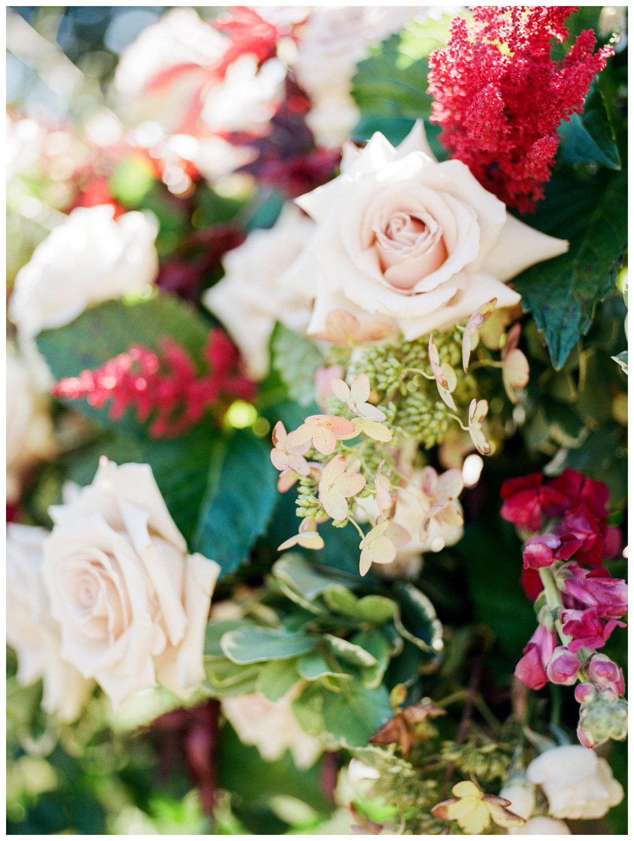 Sun drenched fall wedding in shades of pink at Oxon Hill Manor in Maryland ceremony flowers by sweet root village by Washington DC fine art photographer Lissa Ryan Photography