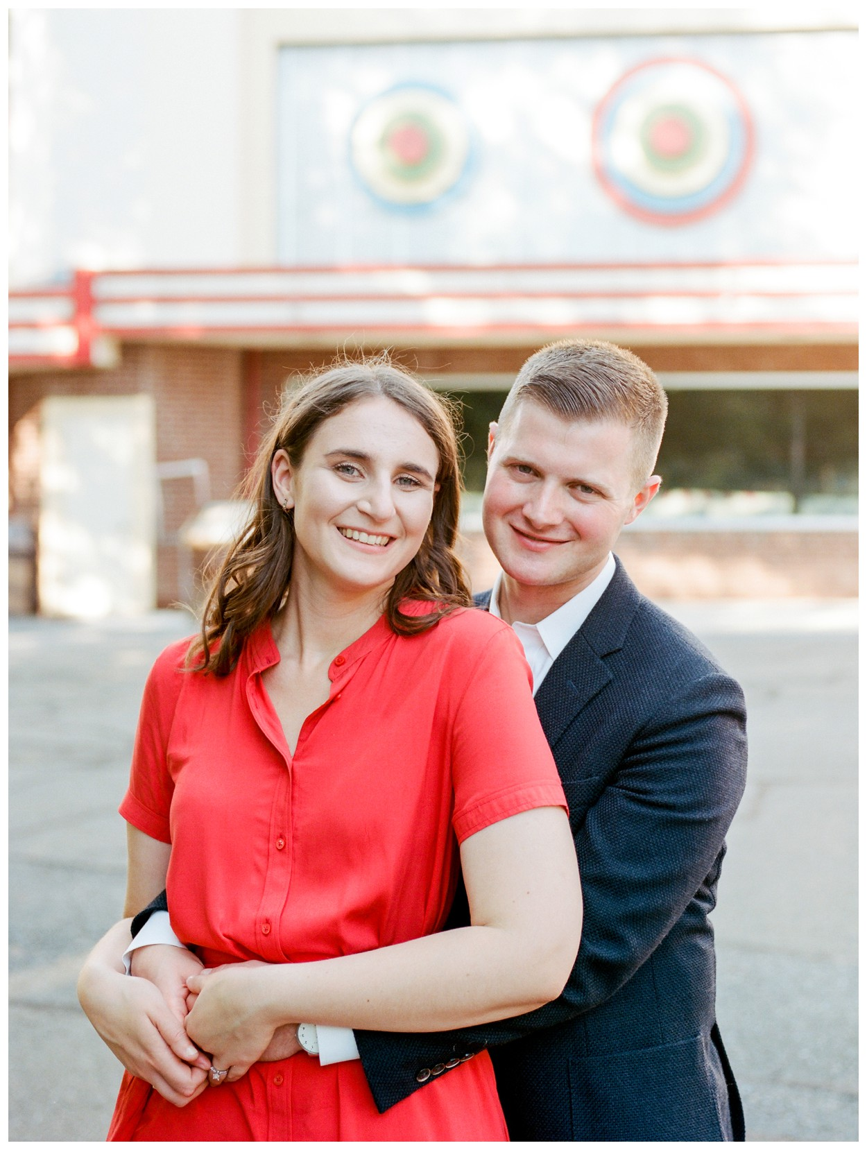 Summer engagement session at Glen Echo Park Maryland by Washington DC fine art wedding photographer Lissa Ryan Photography