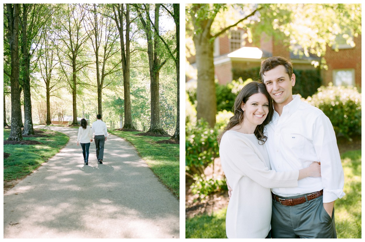 Spring Private Estate Engagement Session in Richmond, VA by fine art wedding photographer Lissa Ryan Photography