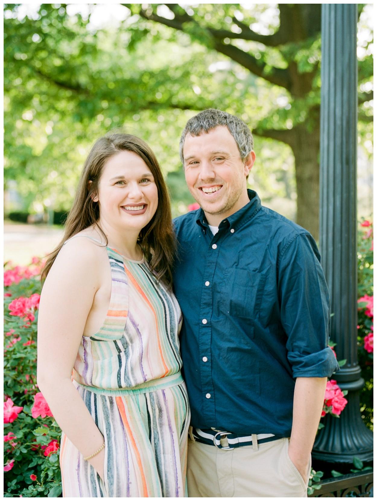 Summer Engagement Session in Adams Morgan, Washington DC by fine art wedding photographer Lissa Ryan Photography