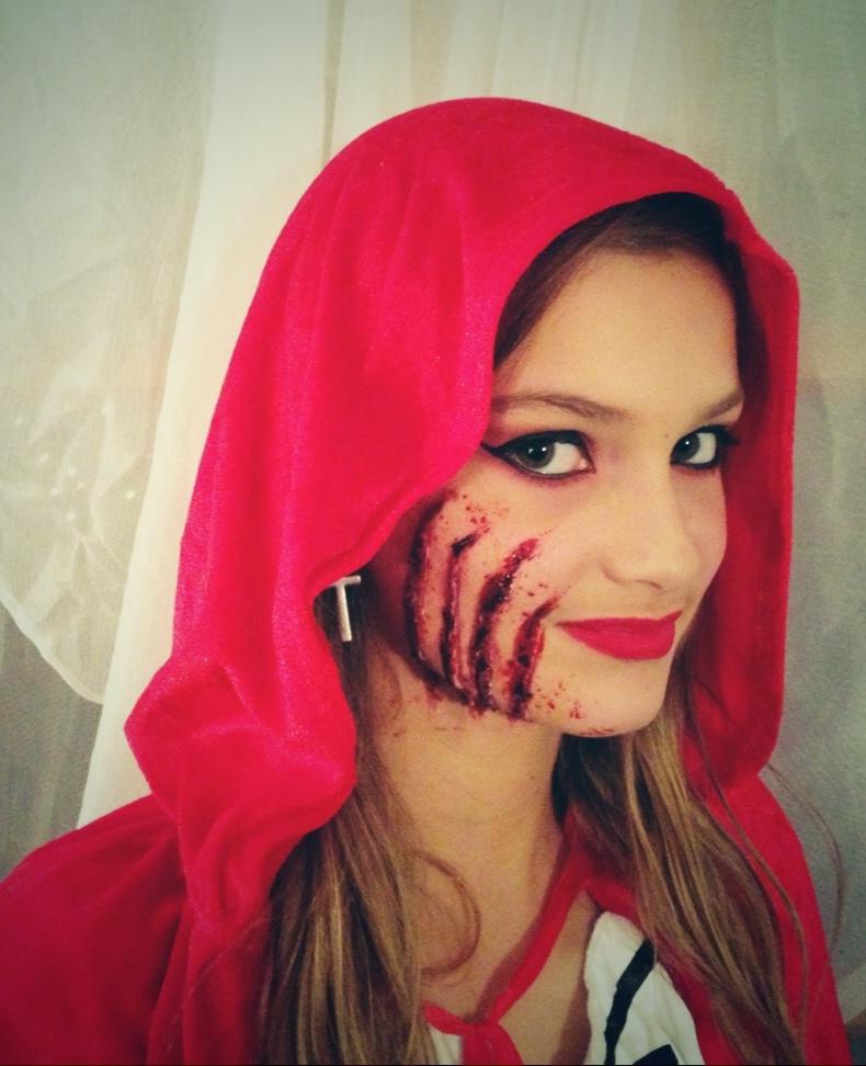 SPFX makeup artist - Wolf Scratches